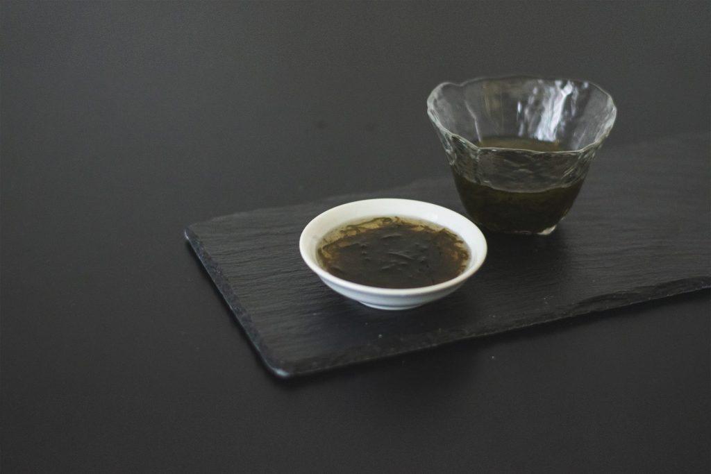 沖縄県産味付きもずく 三杯酢